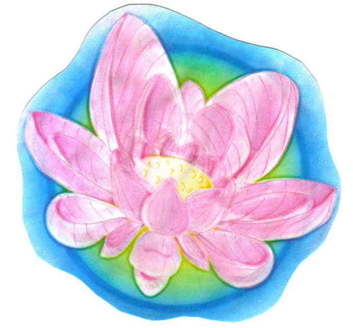 Painting Lotus Flower