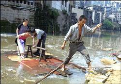 Hochwasser in Hunan
